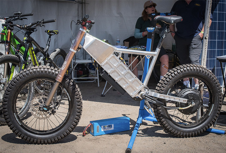 """Mad Max"" Super E-Bike"